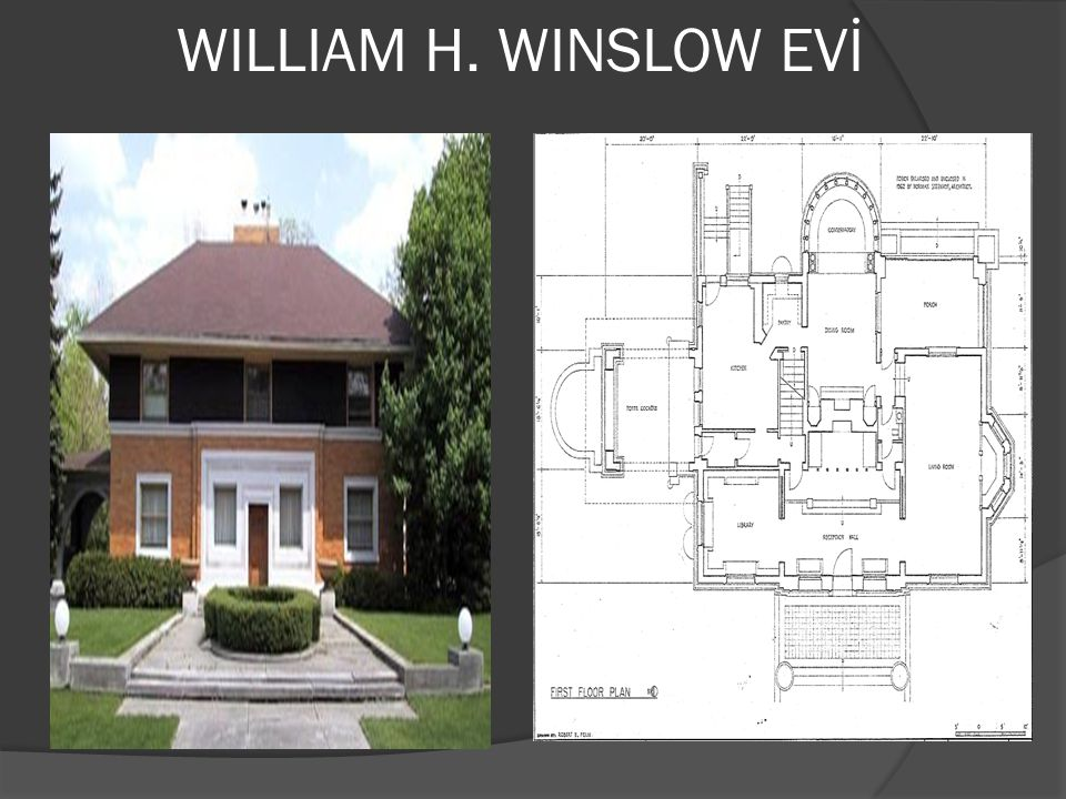 WILLIAM H. WINSLOW EVİ