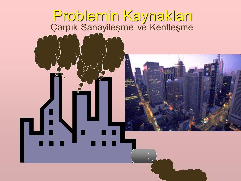 Problemin Kaynakları Çarpık Sanayileşme ve Kentleşme