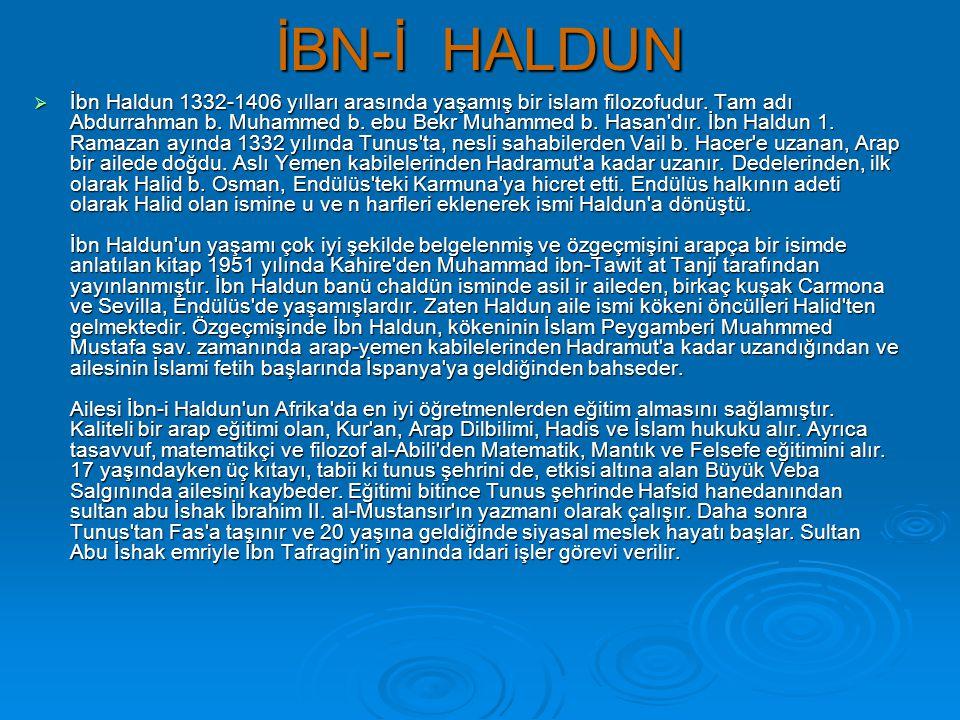 İBN-İ HALDUN