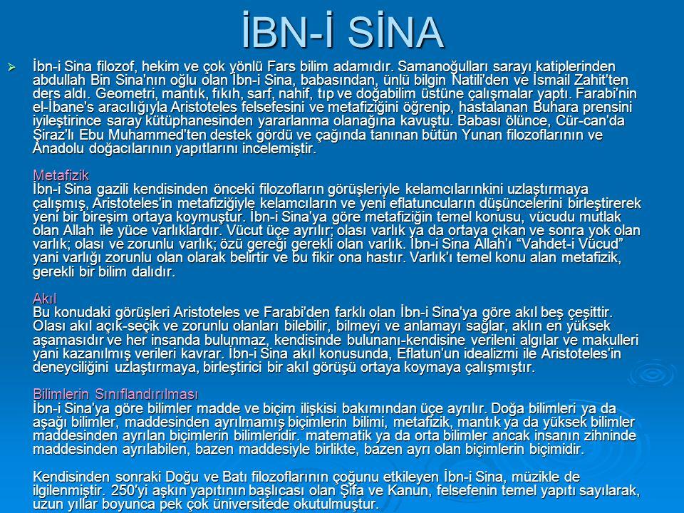 İBN-İ SİNA