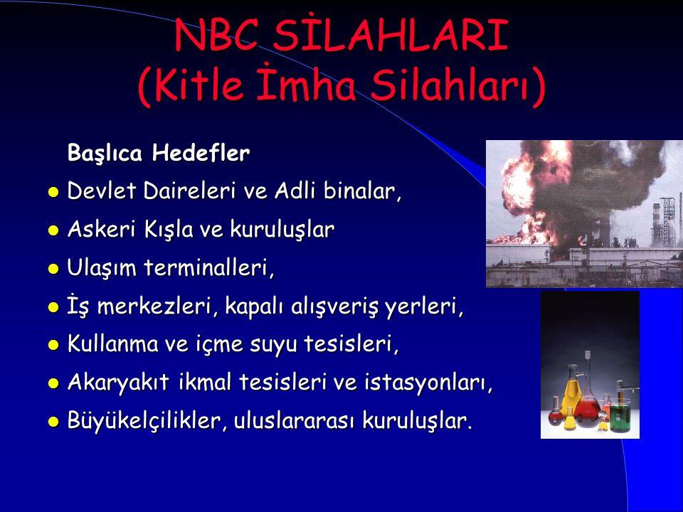 NBC SİLAHLARI (Kitle İmha Silahları)
