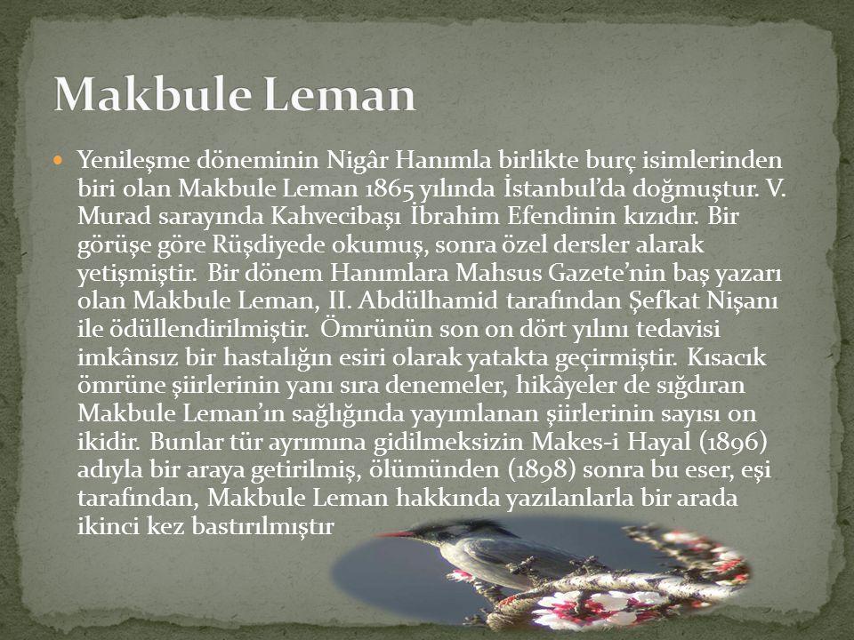 Makbule Leman