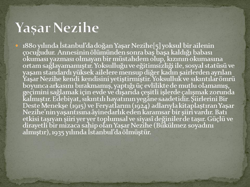 Yaşar Nezihe