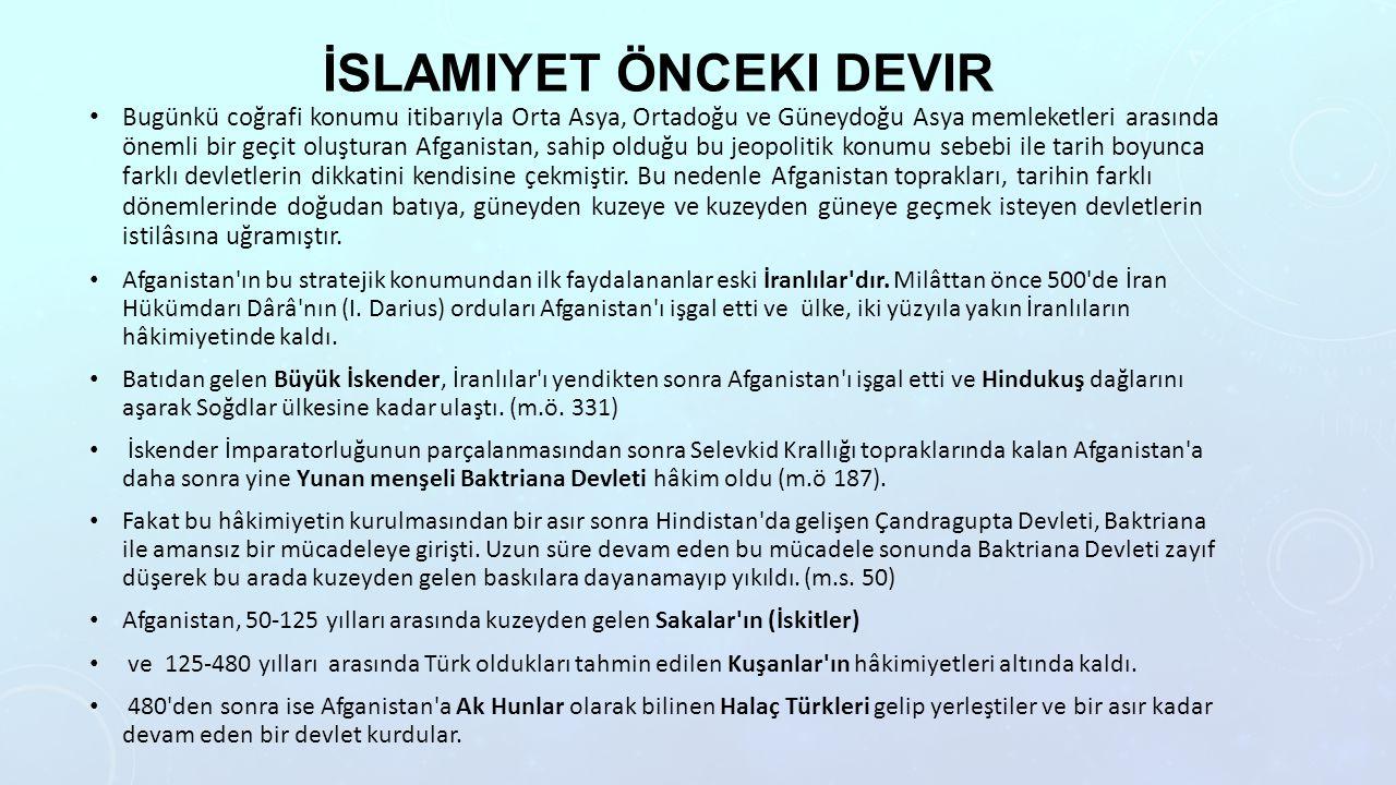 İslamiyet önceki devir