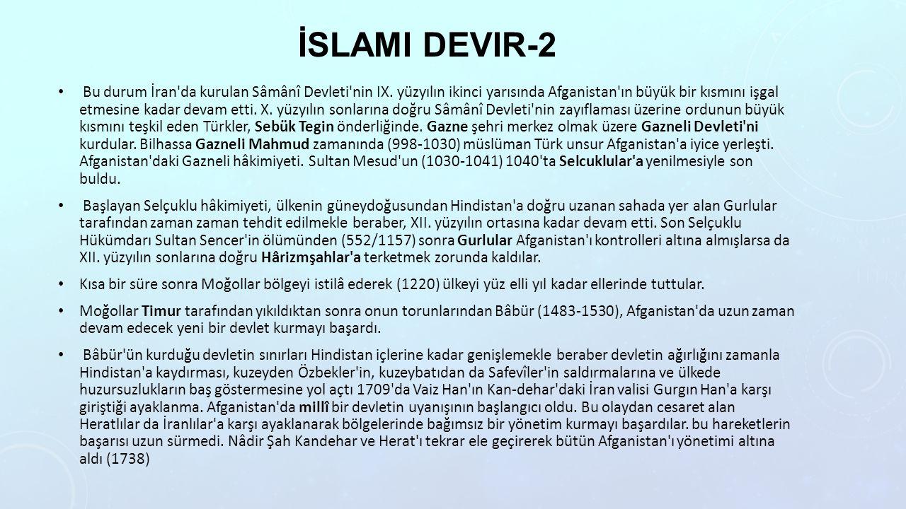 İslami devir-2