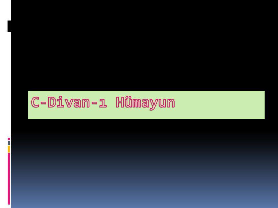 C-Divan-ı Hümayun