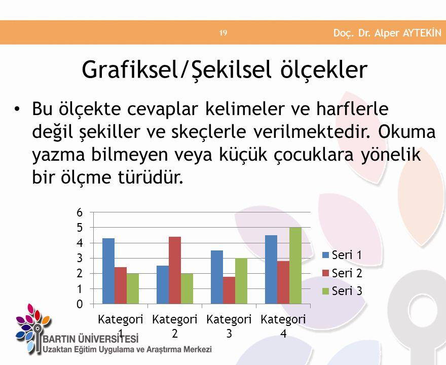 Grafiksel/Şekilsel ölçekler