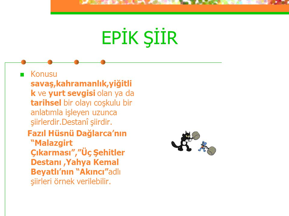 EPİK ŞİİR