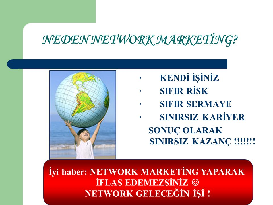 NEDEN NETWORK MARKETİNG