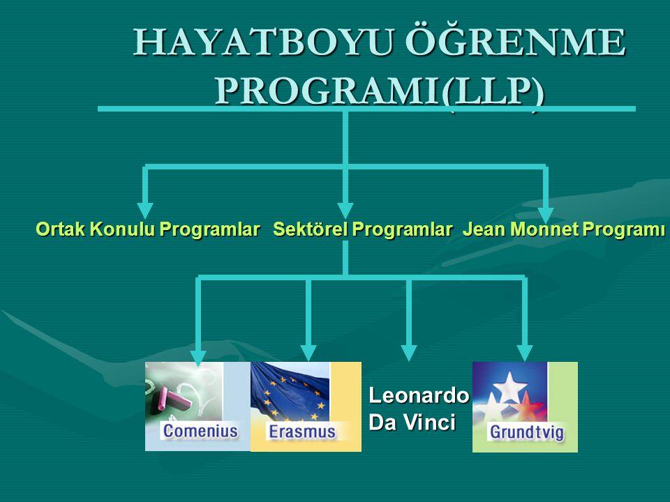 HAYATBOYU ÖĞRENME PROGRAMI(LLP)