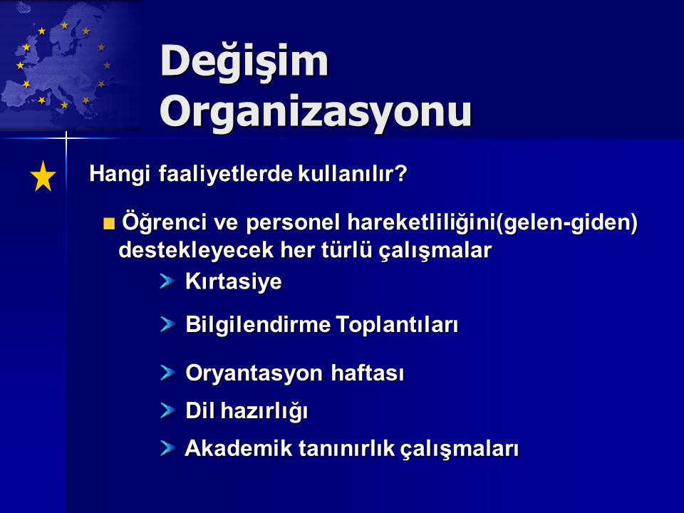 Değişim Organizasyonu