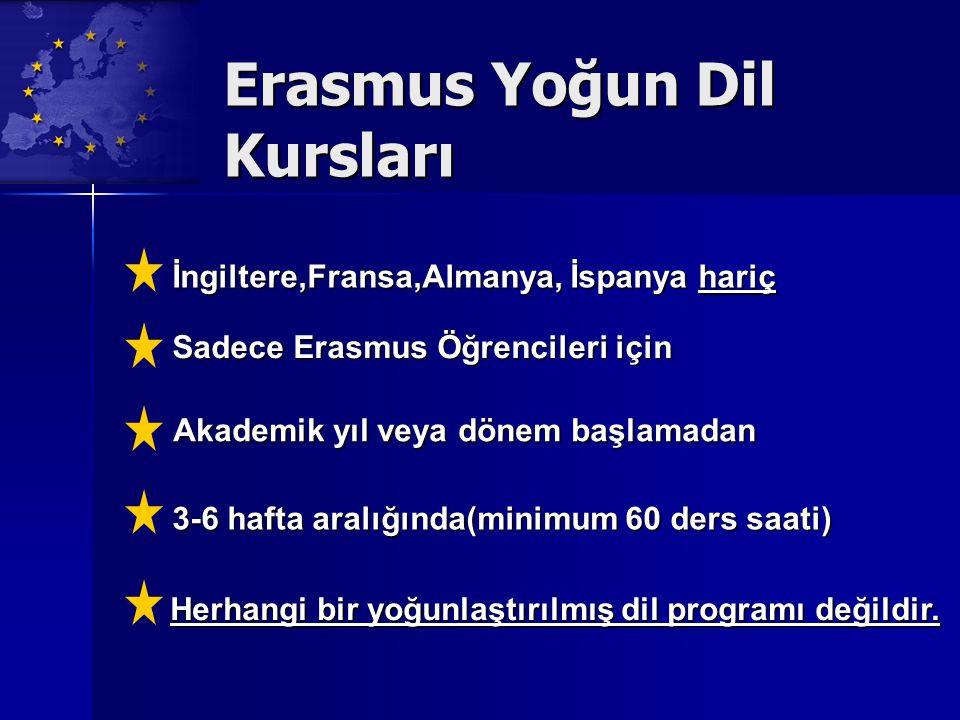 Erasmus Yoğun Dil Kursları