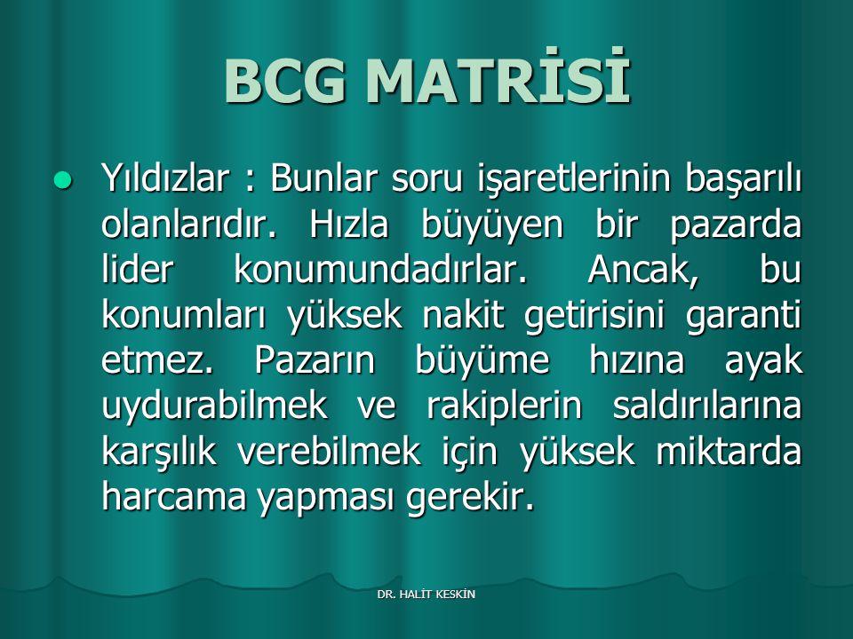 BCG MATRİSİ
