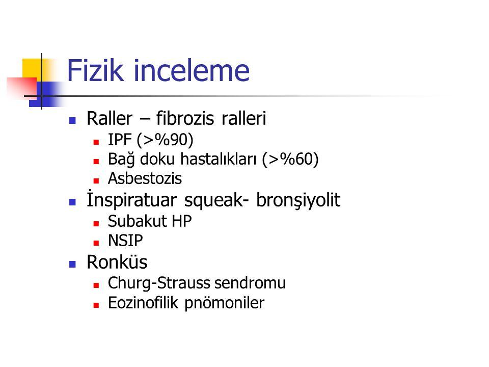 Fizik inceleme Raller – fibrozis ralleri