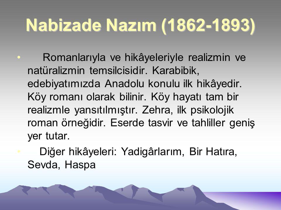 Nabizade Nazım (1862-1893)