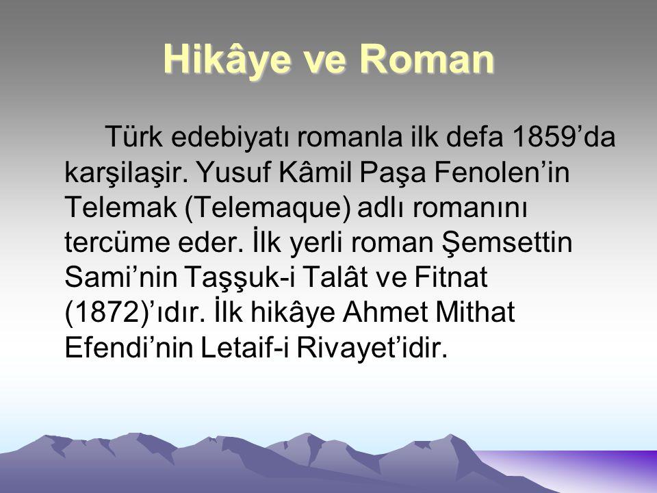 Hikâye ve Roman