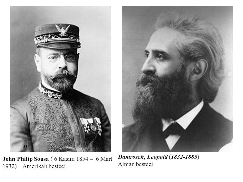 Damrosch, Leopold (1832-1885) Alman besteci