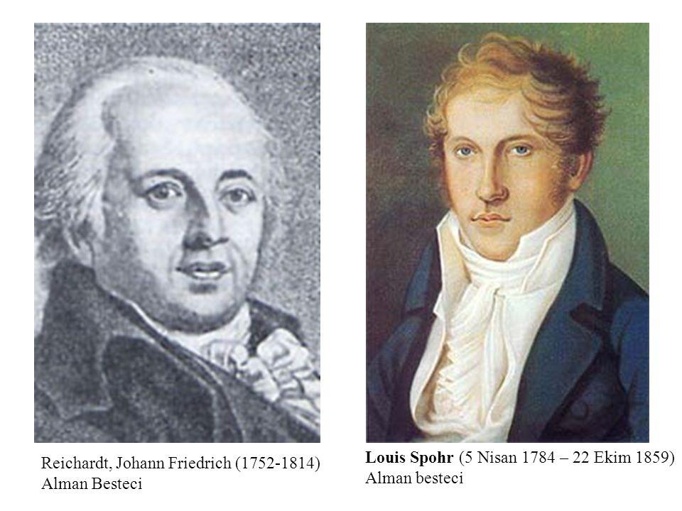 Louis Spohr (5 Nisan 1784 – 22 Ekim 1859) Alman besteci