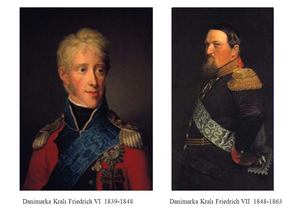 Danimarka Kralı Friedrich VI 1839-1848