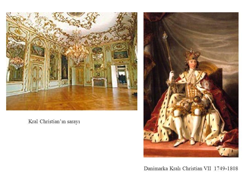 Kral Christian'ın sarayı
