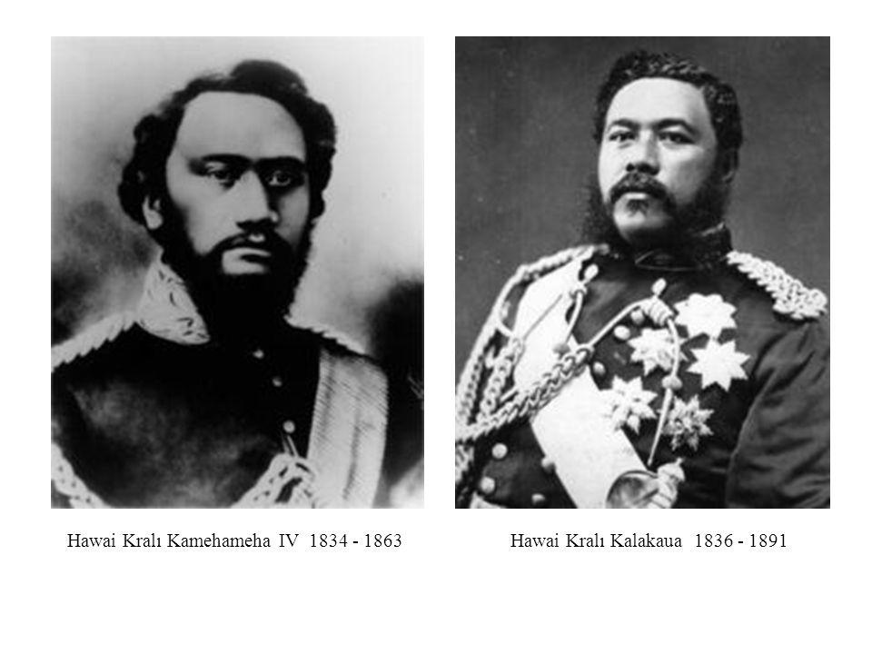 Hawai Kralı Kamehameha IV 1834 - 1863
