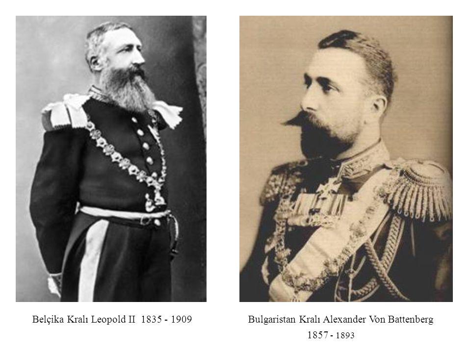 Belçika Kralı Leopold II 1835 - 1909
