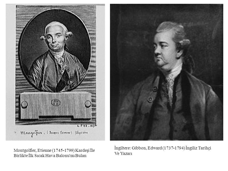 Ìngiltere: Gibbon, Edward (1737-1794) Ìngiliz Tarihçi Ve Yazarı.