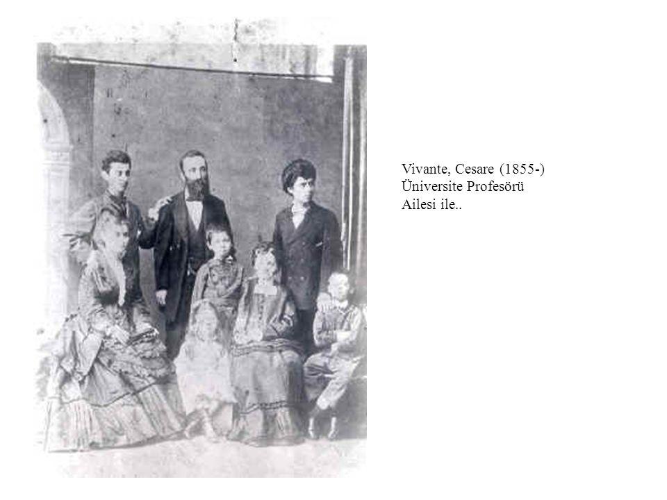 Vivante, Cesare (1855-) Üniversite Profesörü