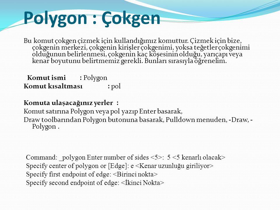 Polygon : Çokgen