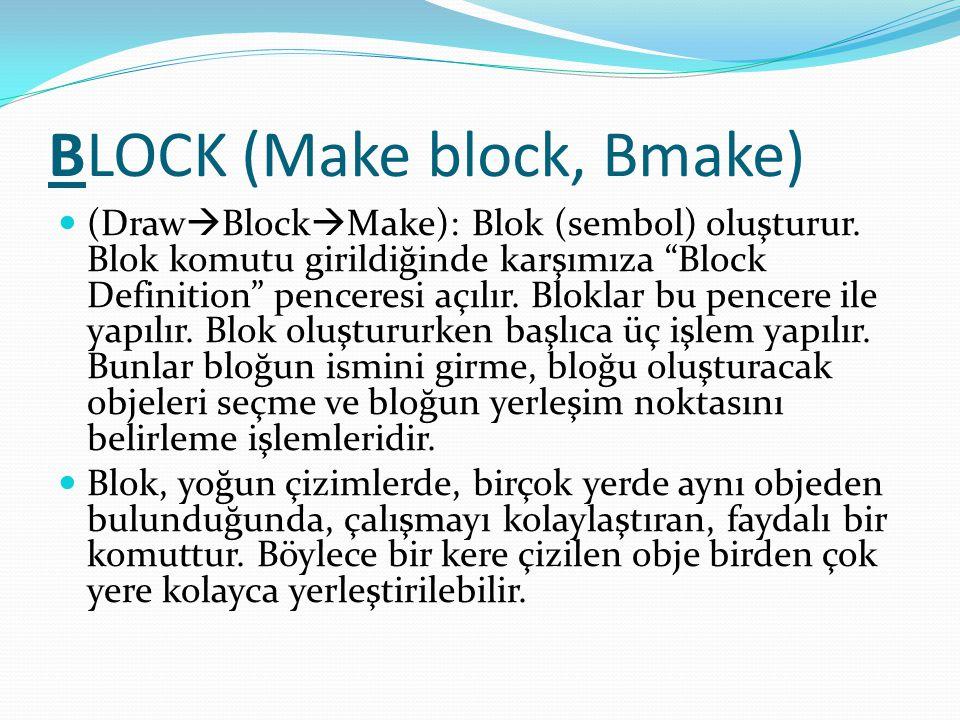 BLOCK (Make block, Bmake)