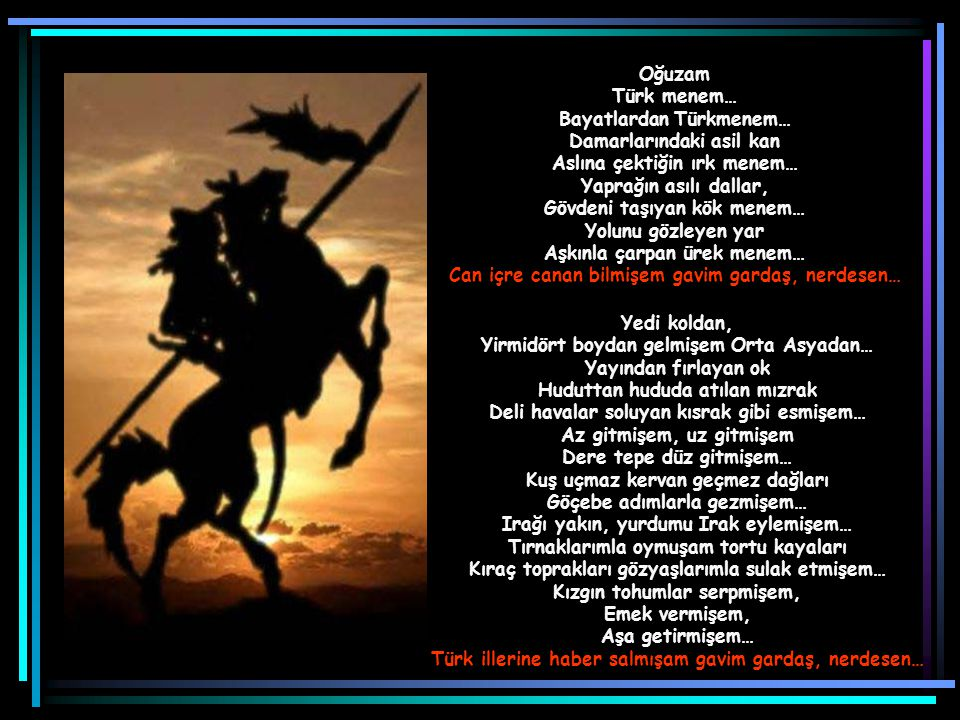 Bayatlardan Türkmenem… Damarlarındaki asil kan