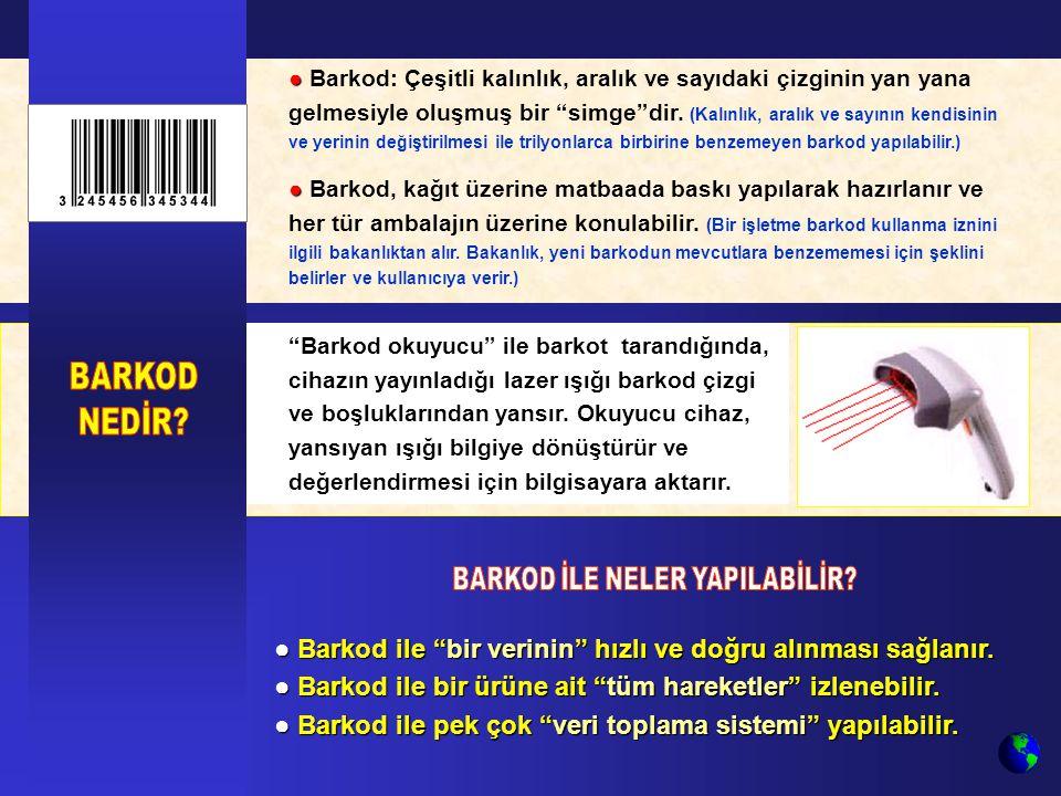 BARKOD İLE NELER YAPILABİLİR