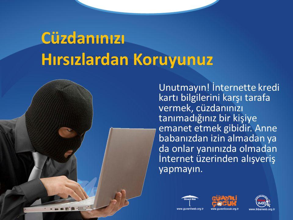 Hırsızlardan Koruyunuz