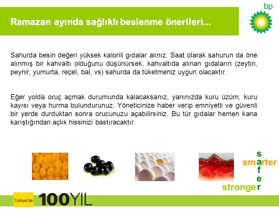 Ramazan ayında sağlıklı beslenme önerileri...
