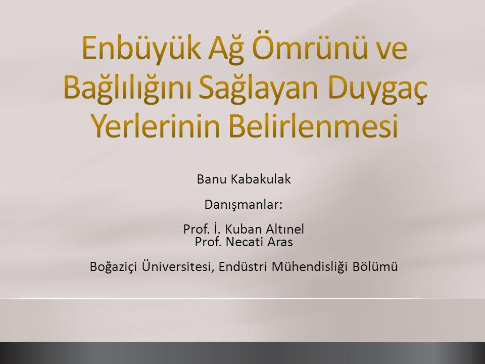 Boğaziçi Üniversitesi, Endüstri Mühendisliği Bölümü