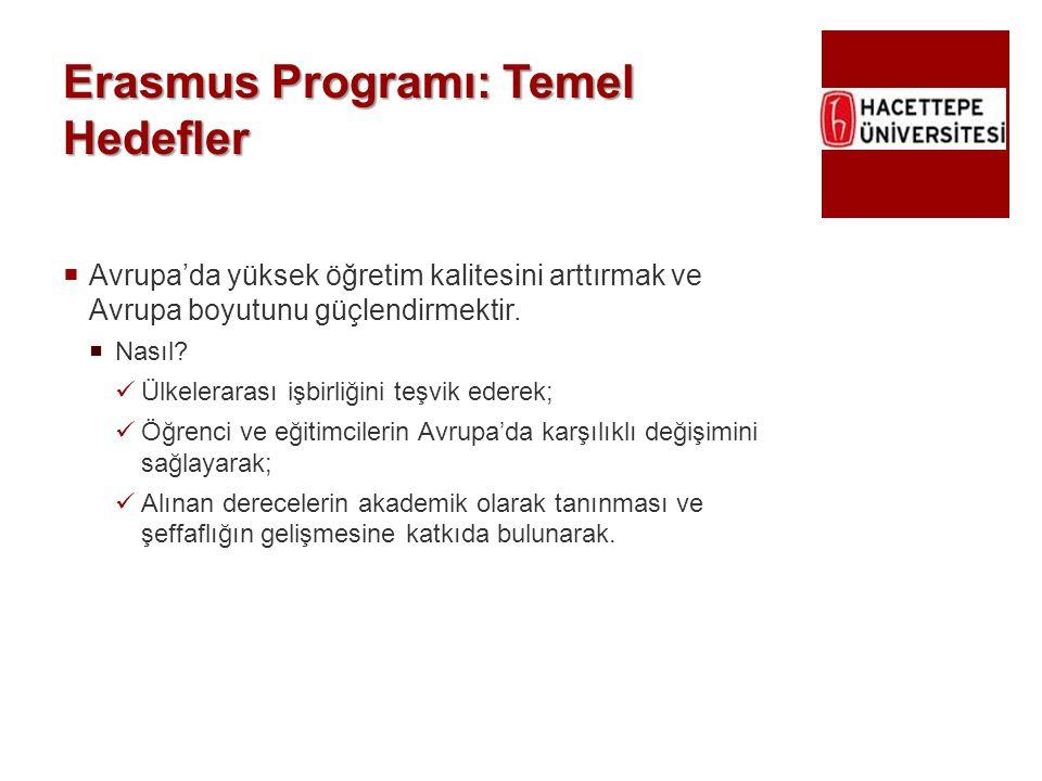Erasmus Programı: Temel Hedefler