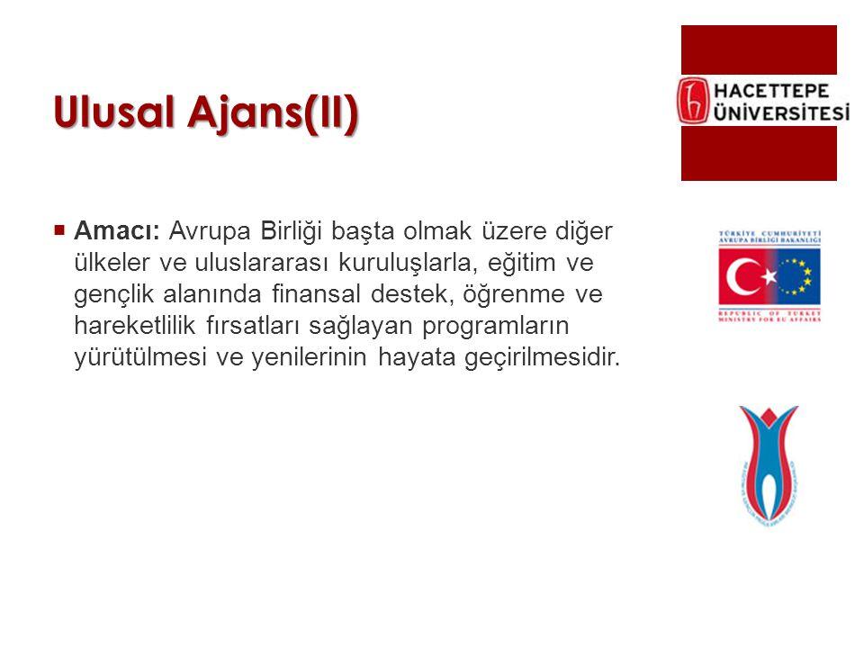 Ulusal Ajans(II)