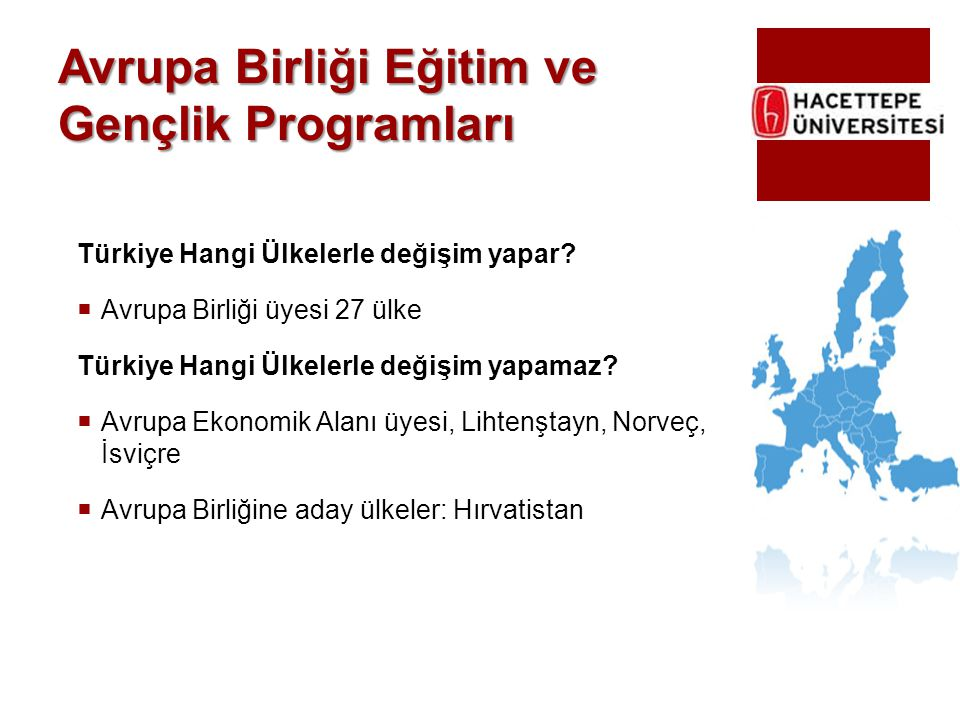 Avrupa Birliği Eğitim ve Gençlik Programları