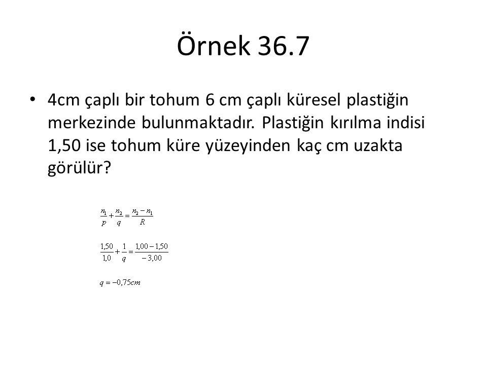 Örnek 36.7