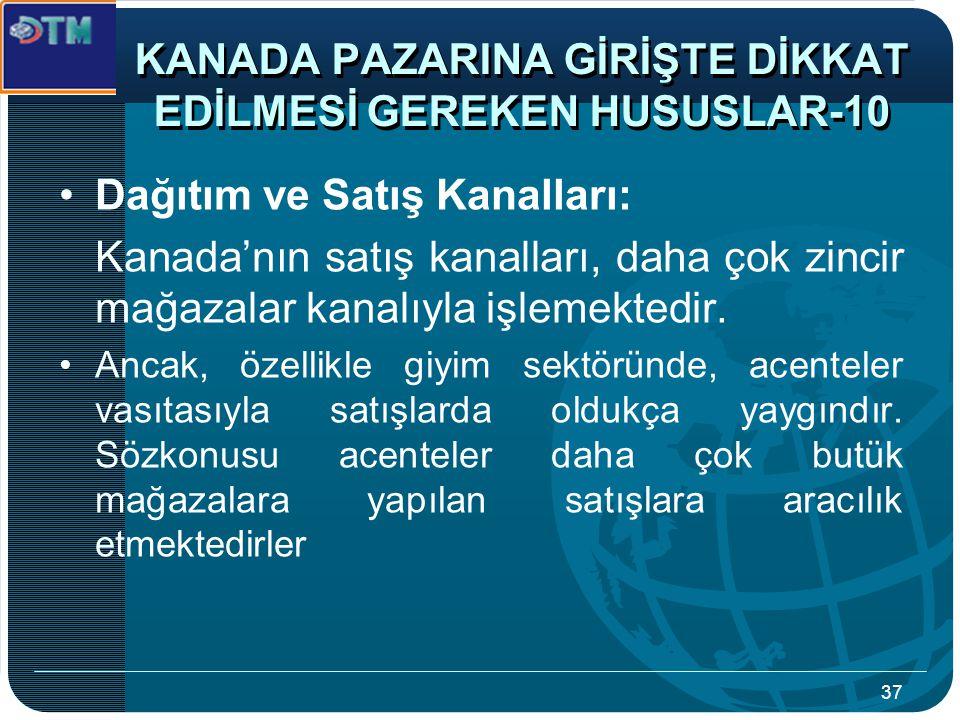 KANADA PAZARINA GİRİŞTE DİKKAT EDİLMESİ GEREKEN HUSUSLAR-10