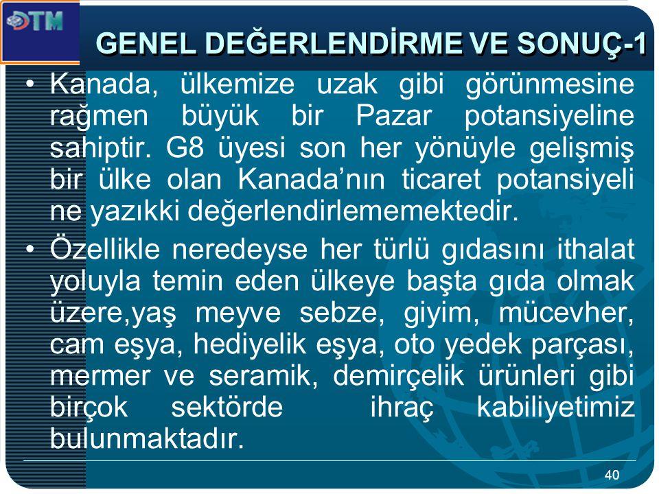 GENEL DEĞERLENDİRME VE SONUÇ-1