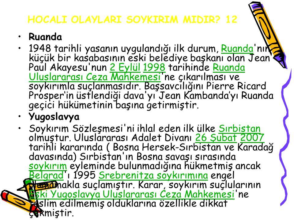 HOCALI OLAYLARI SOYKIRIM MIDIR 12