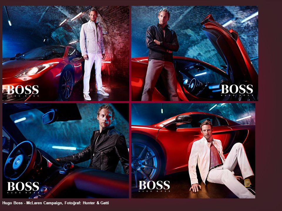 Hugo Boss - McLaren Campaign, Fotoğraf: Hunter & Gatti