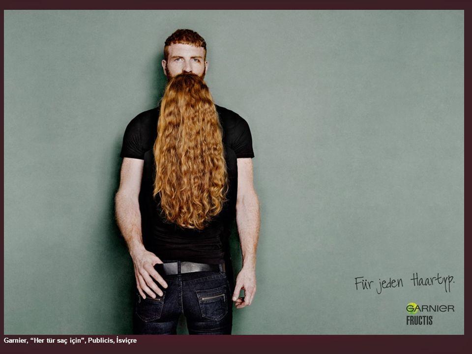 Garnier, Her tür saç için , Publicis, İsviçre