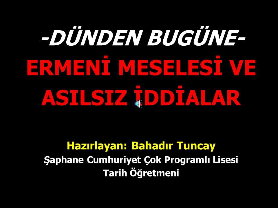 Hazırlayan: Bahadır Tuncay Şaphane Cumhuriyet Çok Programlı Lisesi