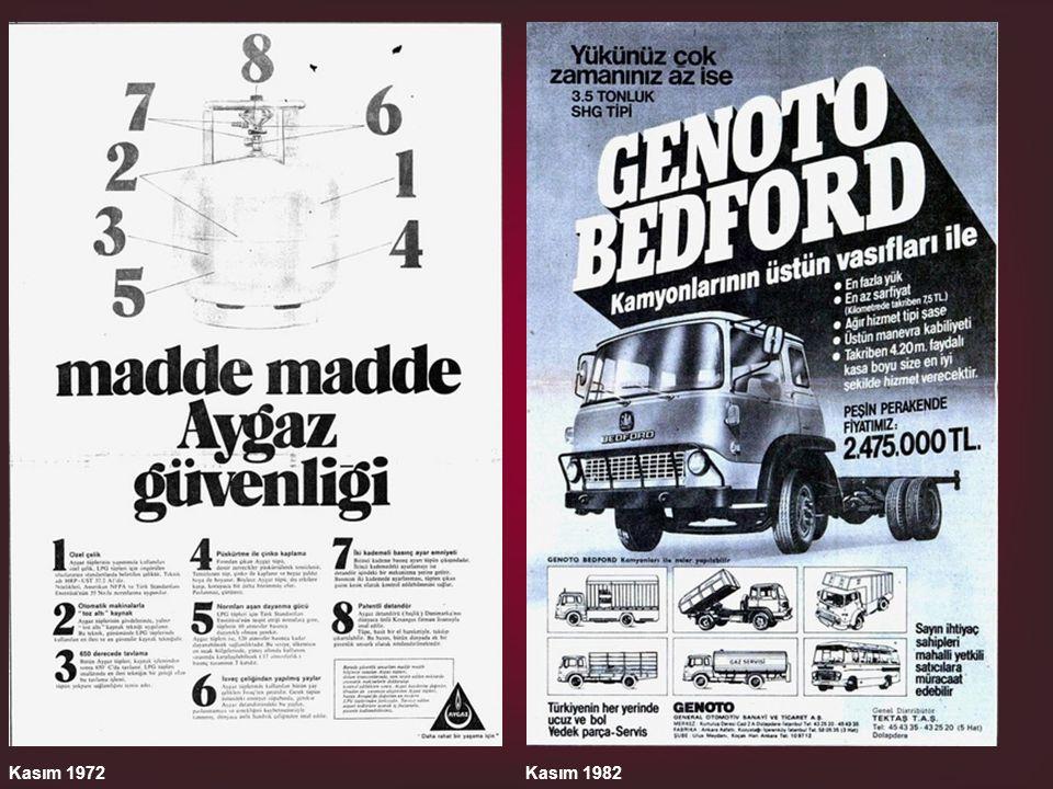 Kasım 1972 Kasım 1982