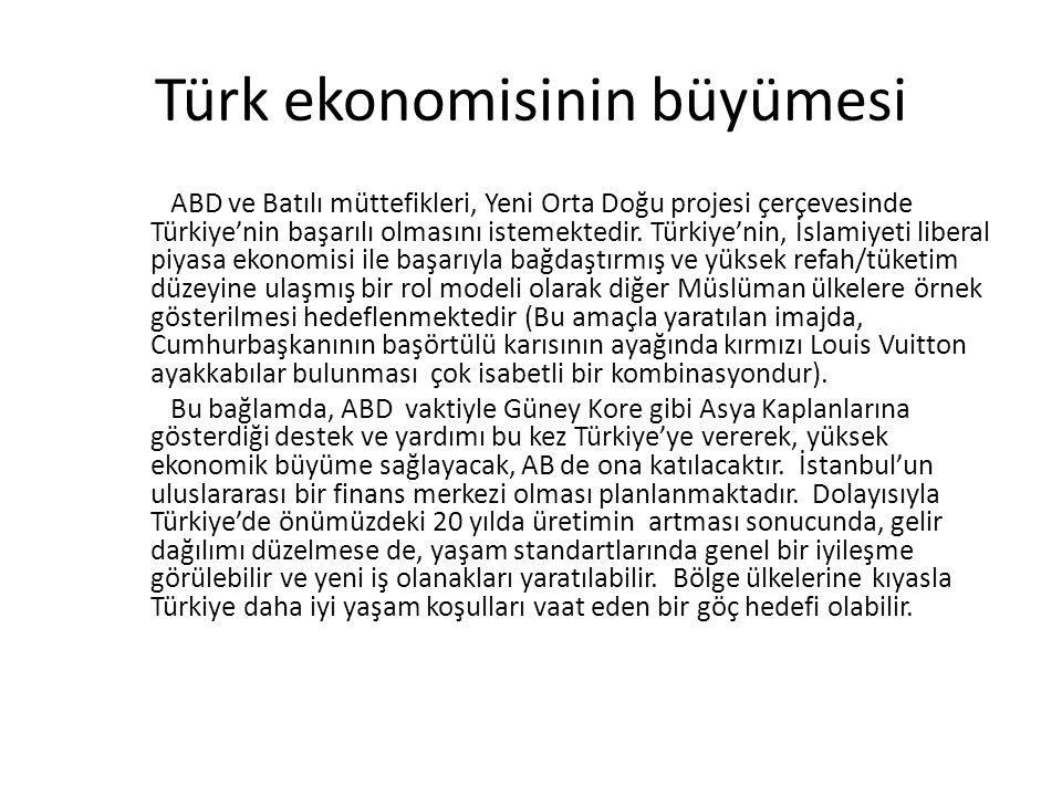 Türk ekonomisinin büyümesi
