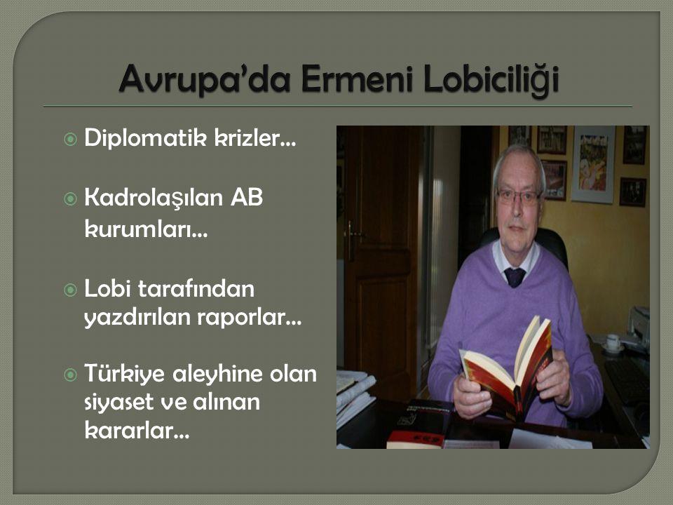 Avrupa'da Ermeni Lobiciliği