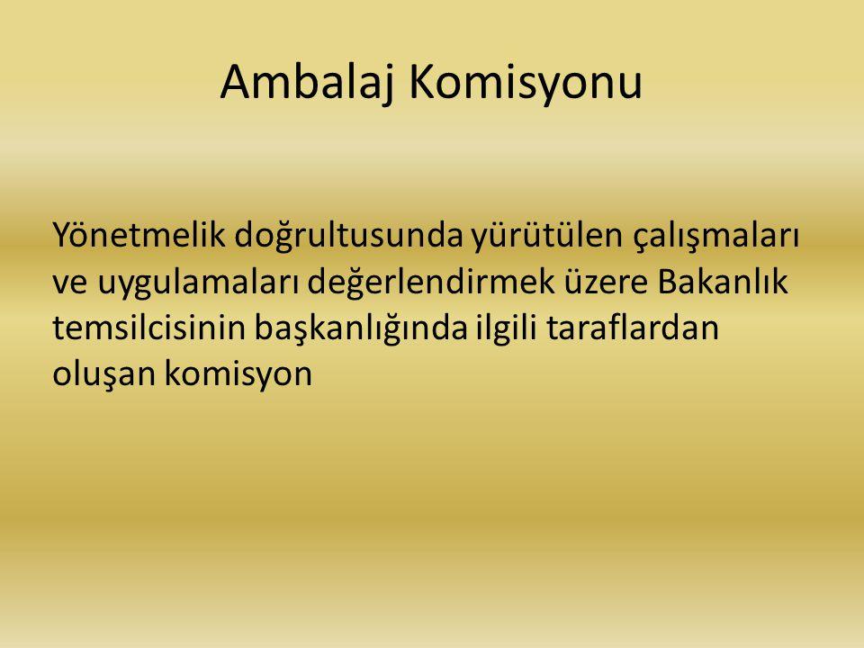 Ambalaj Komisyonu