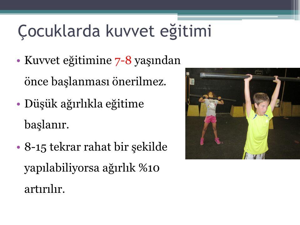 Çocuklarda kuvvet eğitimi